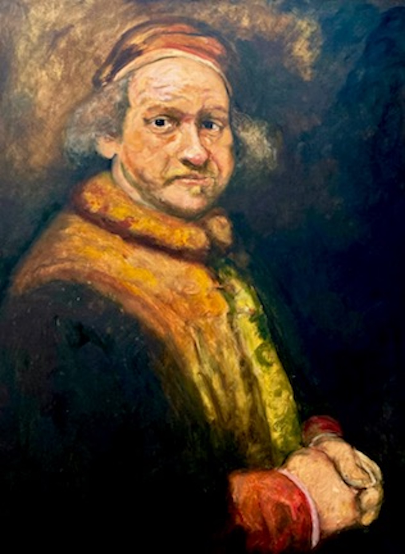 Santiago Pérez: Meditation on Rembrandt 5