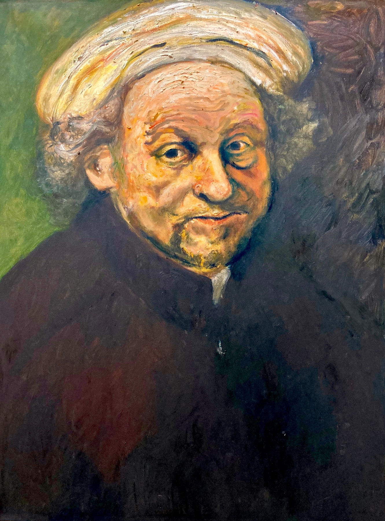 Santiago Pérez: Meditation on Rembrandt 6