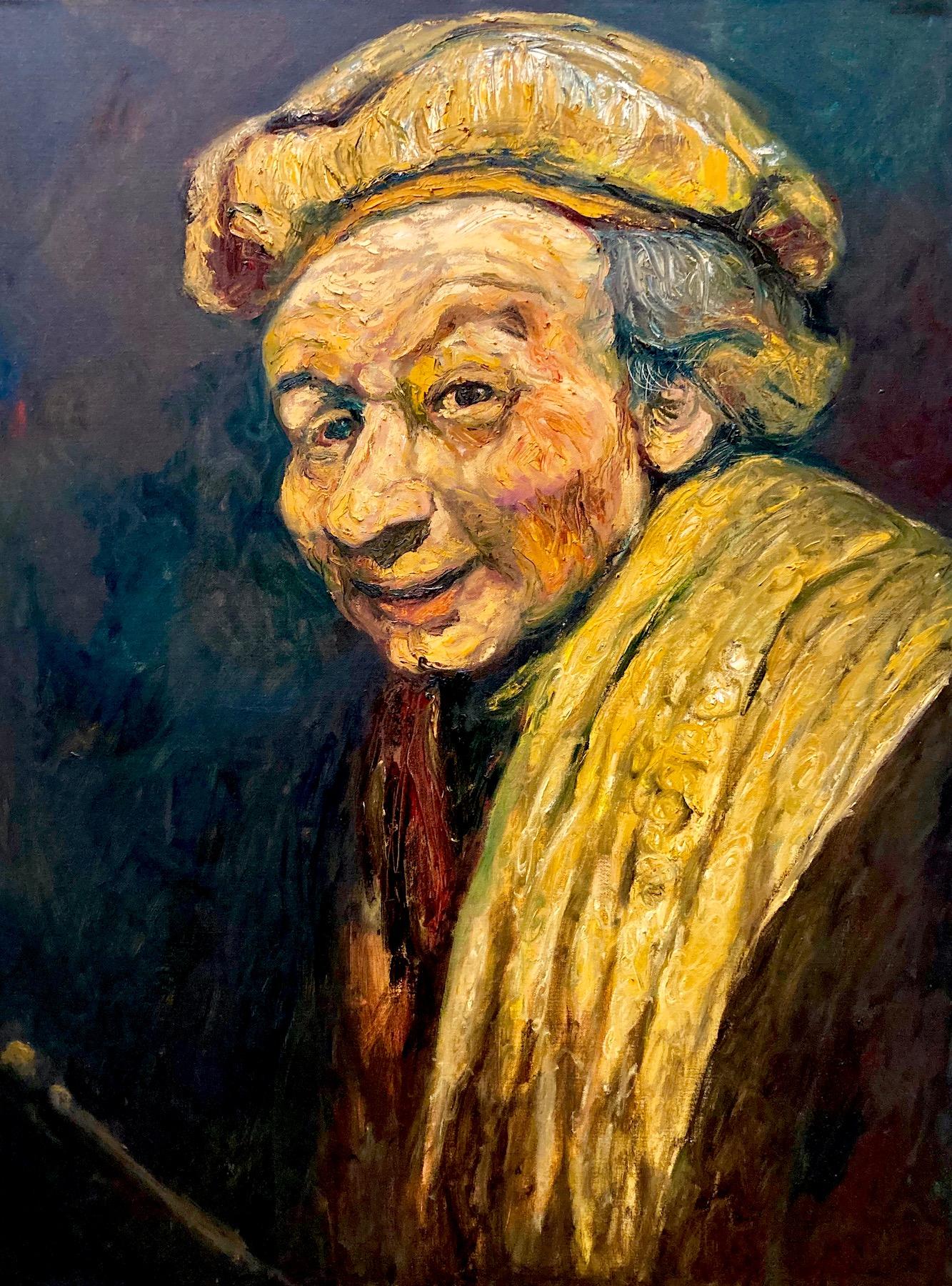 Santiago Pérez: Meditation on Rembrandt 7