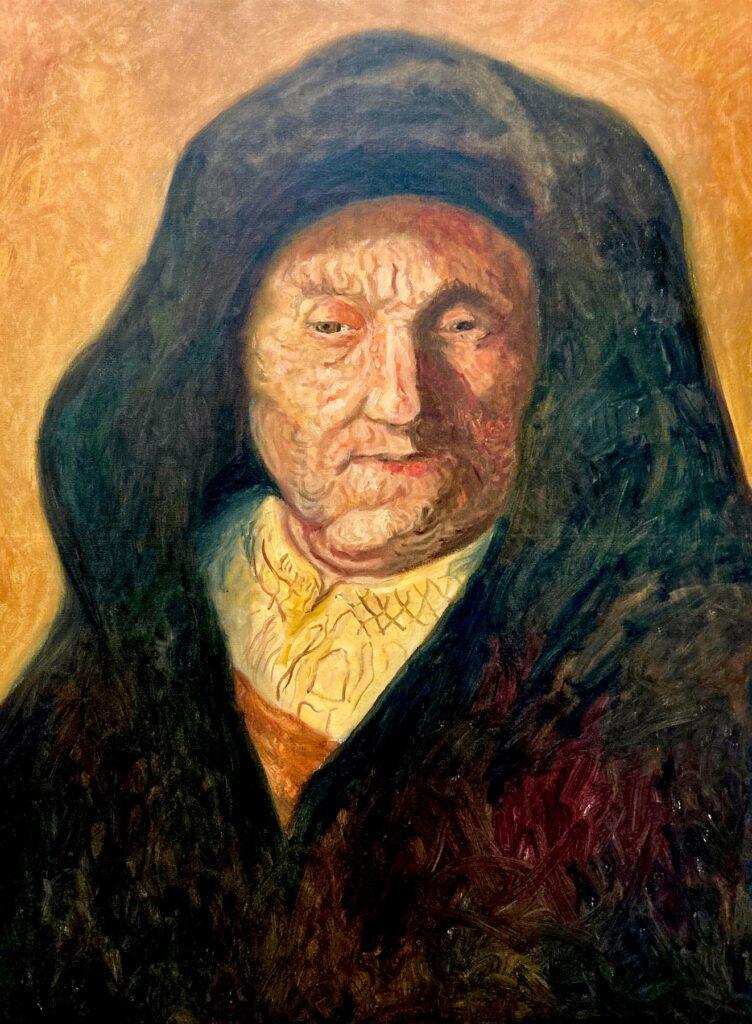 Santiago Pérez: Meditation on Rembrandt 8