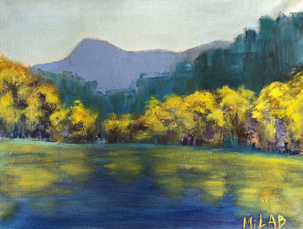 Mila Bakhirev: Monastery Lake
