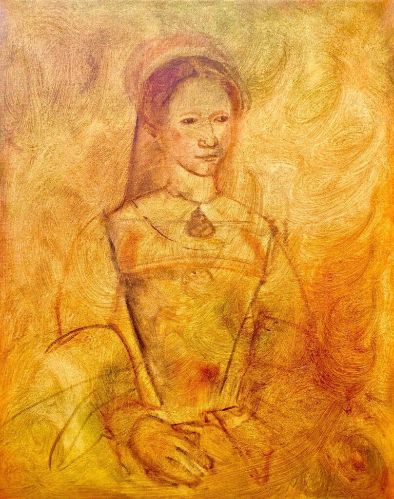 Santiago Pérez: Portrait of a Young Woman