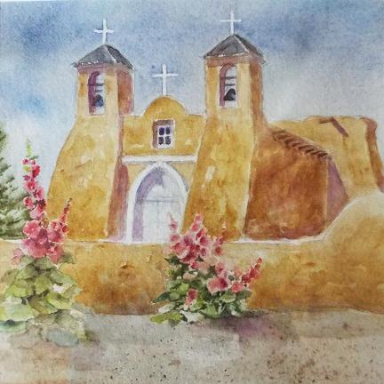 Carol Sparks: Taos Church