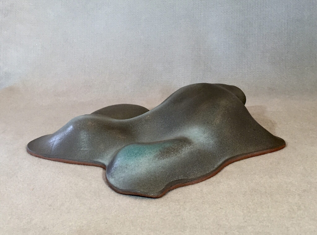 Cecily Colbert: Turquoise Island (Side View)