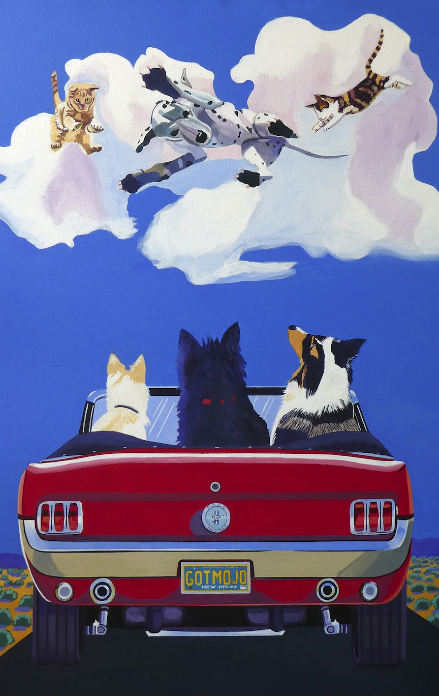 Jeannette Williams: Watching it Rain Cats and Dogs