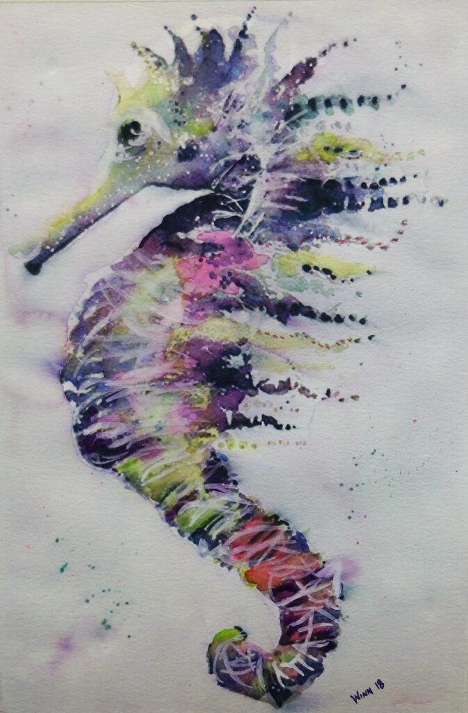 Penny Winn: Wild Seahorse
