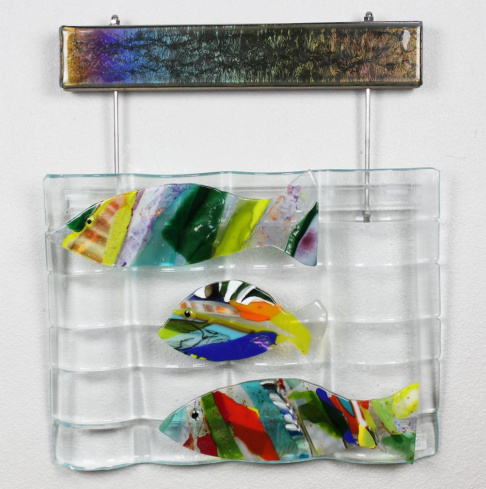 Linda Boyes: 3 Tropical Fish