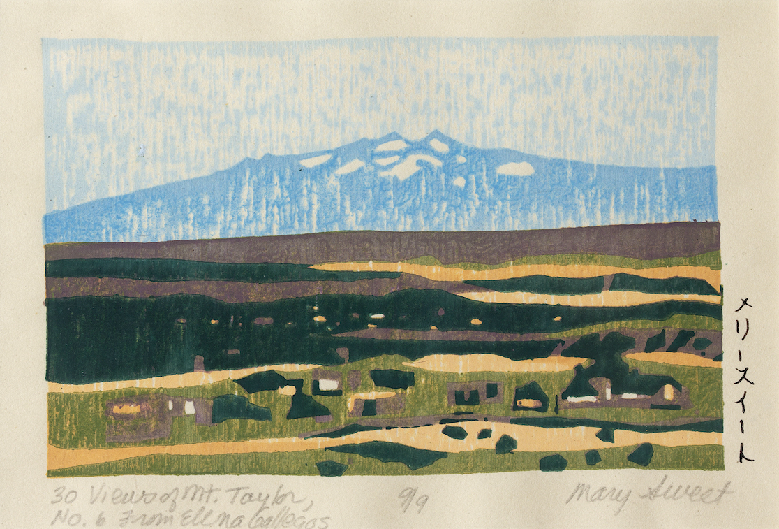Mary Sweet: 30 Views of Mount Taylor #6