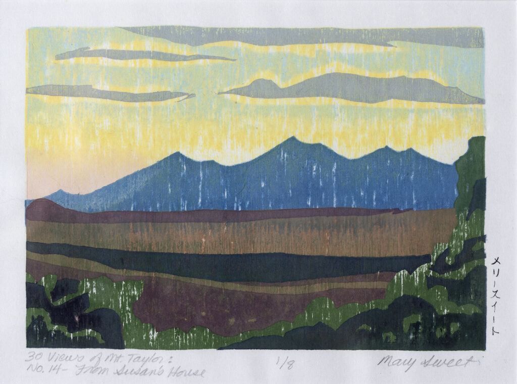 Mary Sweet: 30 Views of Mount Taylor #14