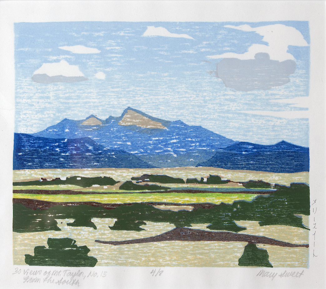 Mary Sweet: 30 Views of Mount Taylor #15