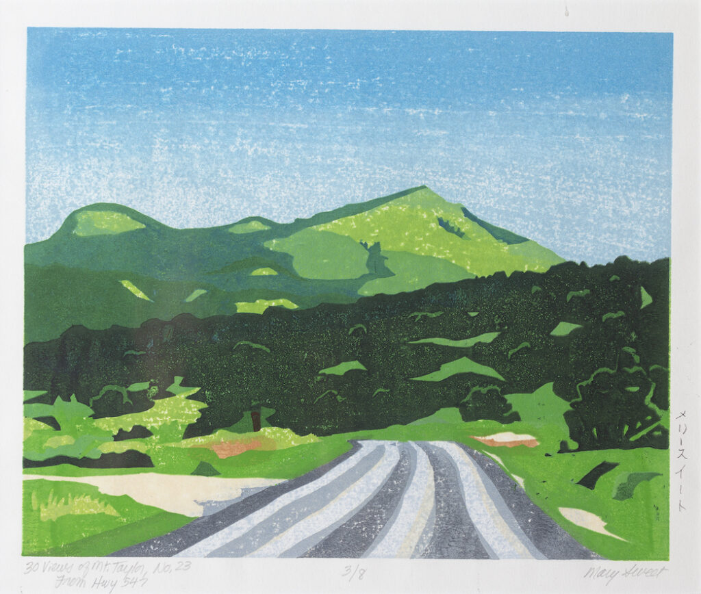 Mary Sweet: 30 Views of Mount Taylor #23