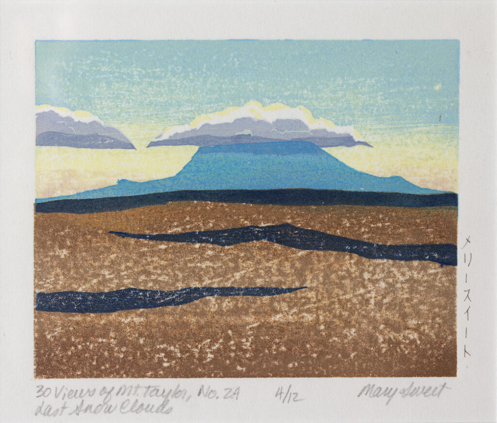 Mary Sweet: 30 Views of Mount Taylor #24