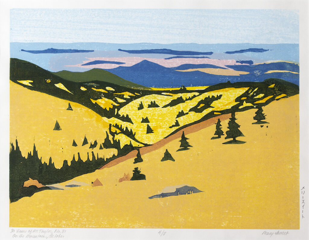 Mary Sweet: 30 Views of Mount Taylor #31