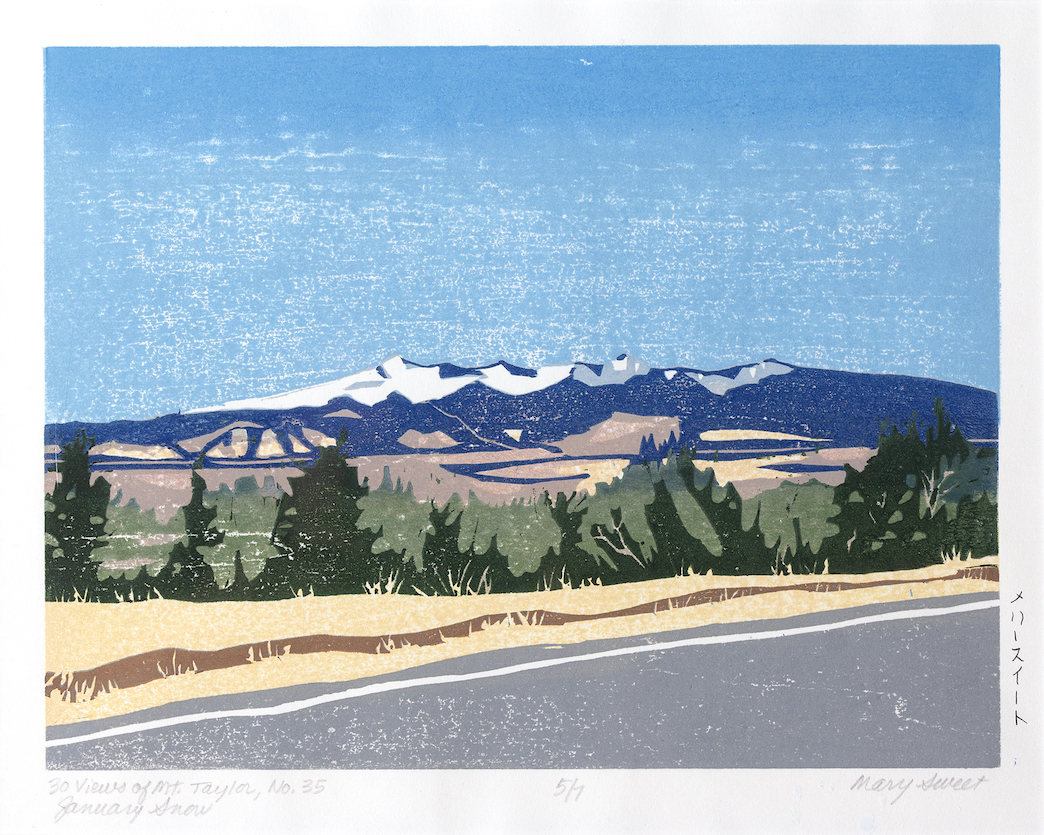 Mary Sweet: 30 Views of Mount Taylor #35