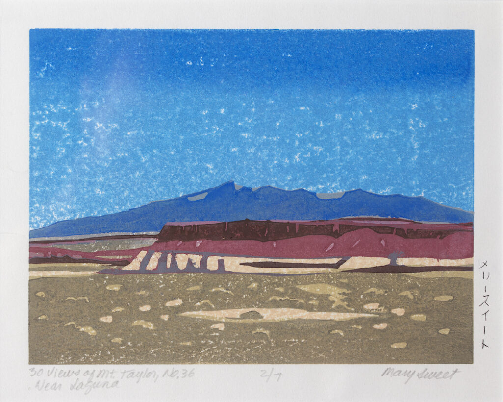 Mary Sweet: 30 Views of Mount Taylor #36