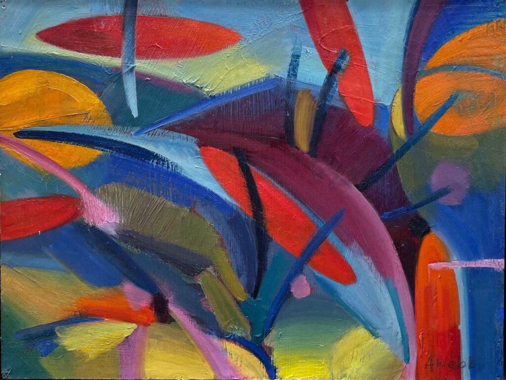 Alice Webb: Autumn's Trees I