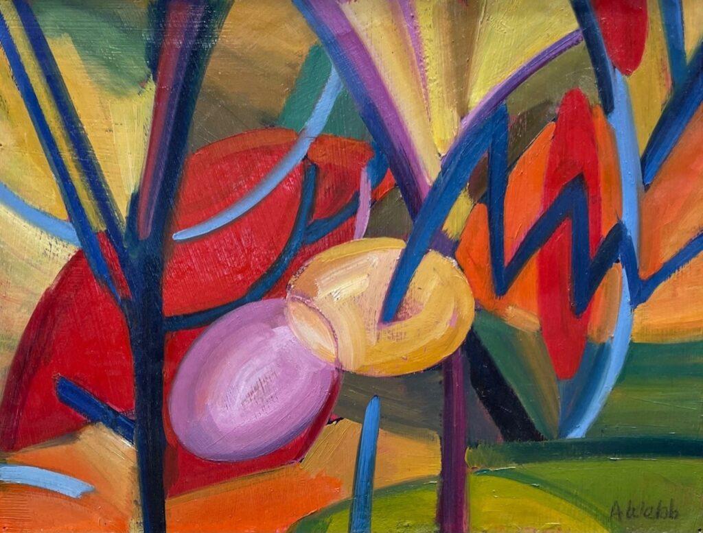 Alice Webb: Autumn's Trees II