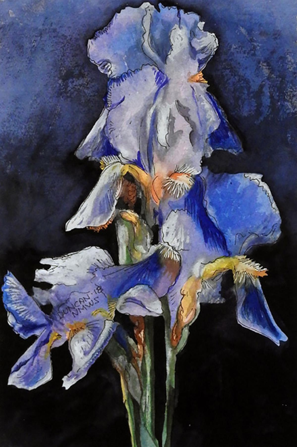 Woody Duncan: Blue Iris