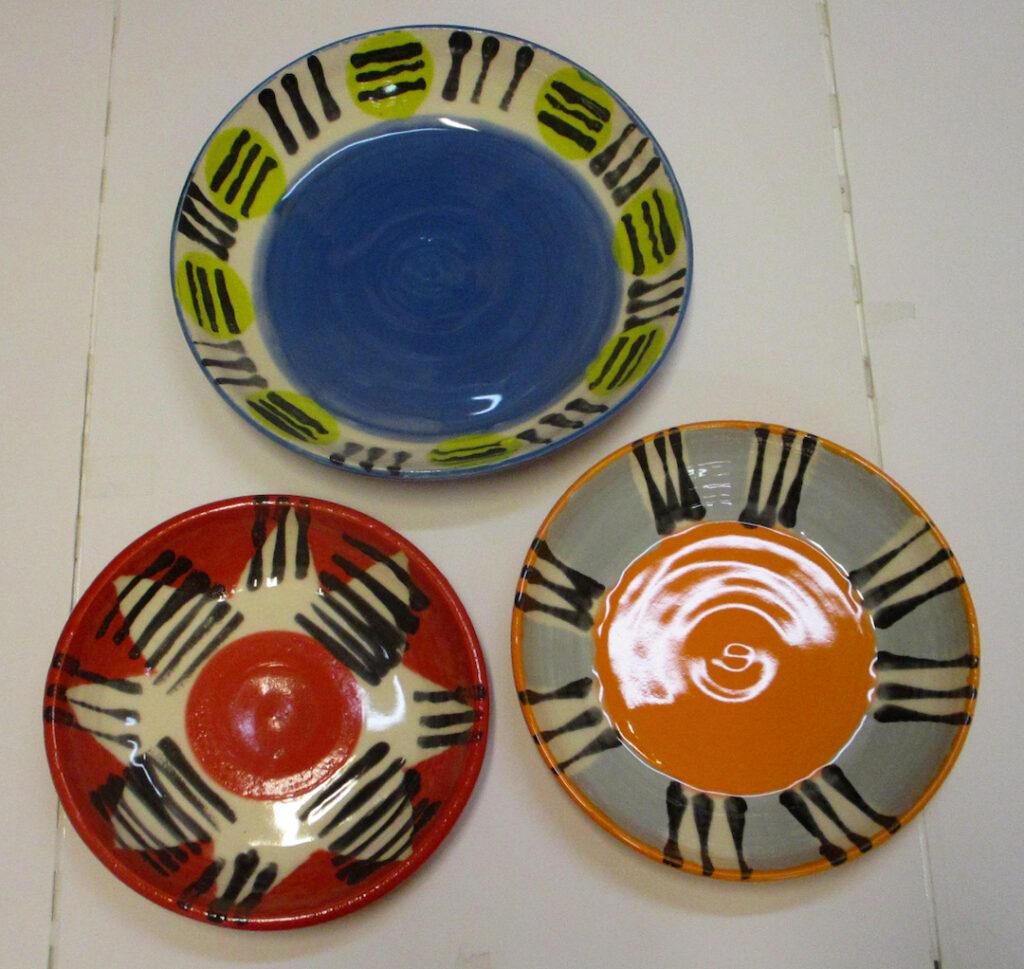 Marlies Diels: Blue, Red and Orange