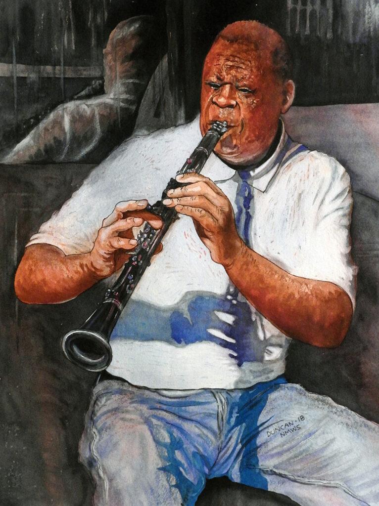 Woody Duncan: Clarinet-NOLA