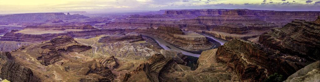 Glenn Hohnstreiter: Colorado River Overlook