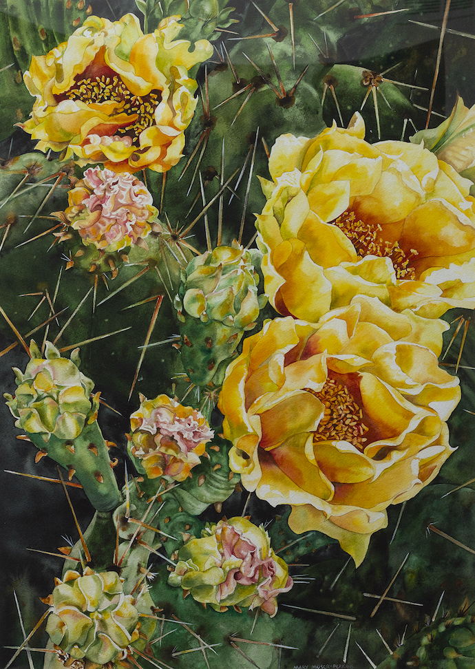Mary Moser-Perkins: Dazzeling Yellow