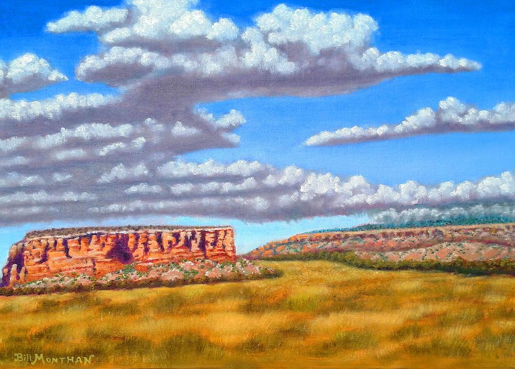 Bill Monthan: Enchanted Mesa