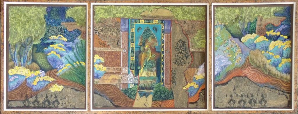 Donna L. Aldrich: Entry Between Paths