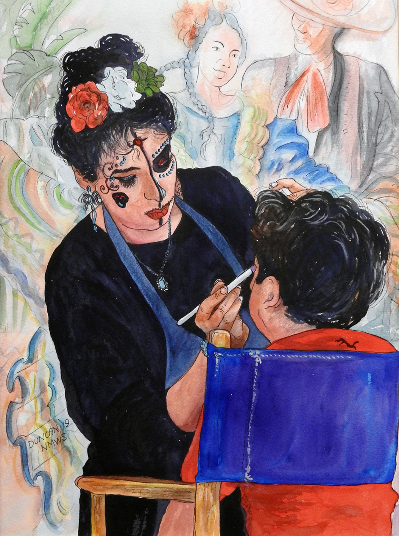 Woody Duncan: Face Painting