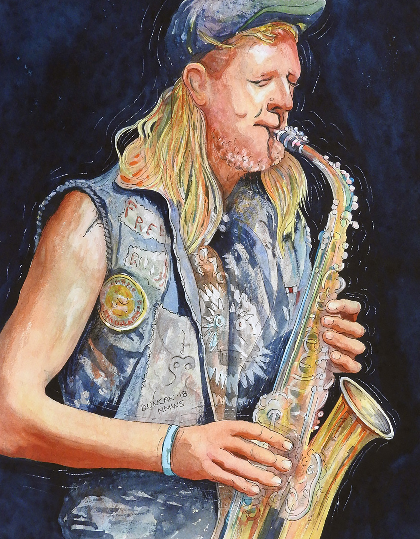 Woody Duncan: French Quarter Sax
