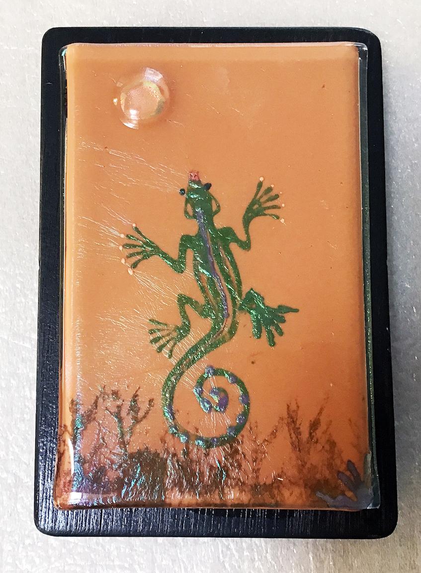 Linda Boyes: Gecko