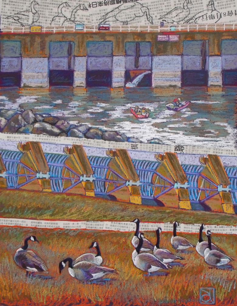 Donna L. Aldrich: Geese's Landing