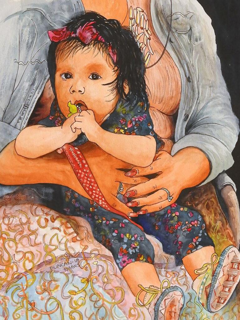 Woody Duncan: Indian Market Baby