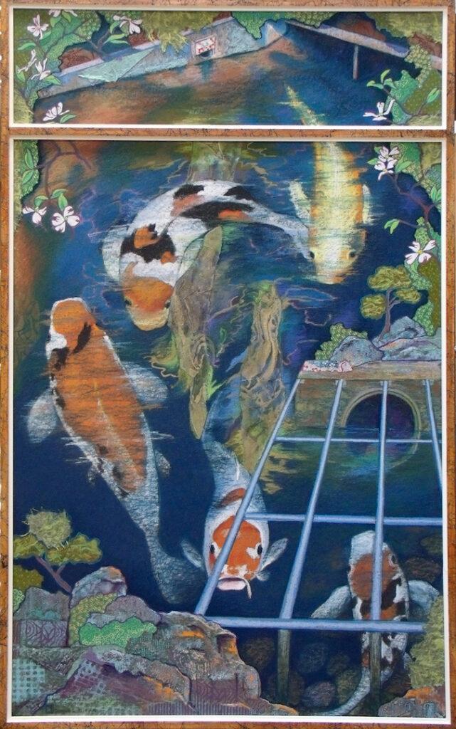 Donna L. Aldrich: Koi in Cascade