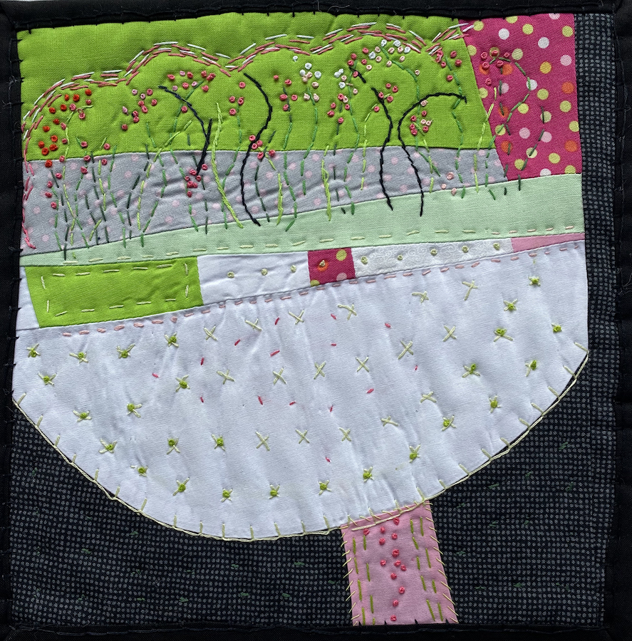 Peggy Trigg: Meditations in Fiber-Pink Growth