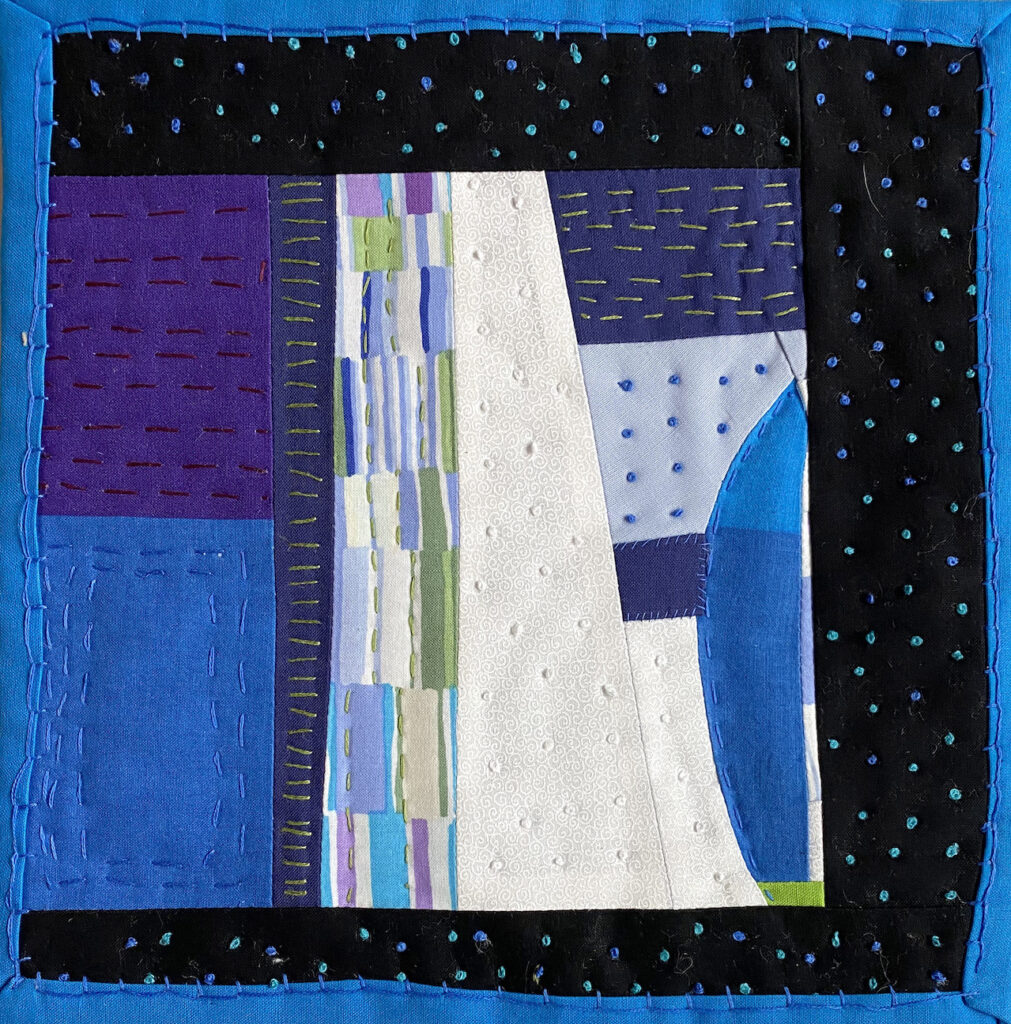 Peggy Trigg: Meditations in Fiber-Something in Blue?