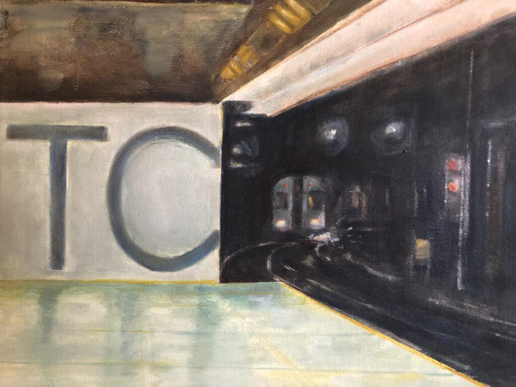 Alexandra Dell'Amore: Path Train World Trade Center