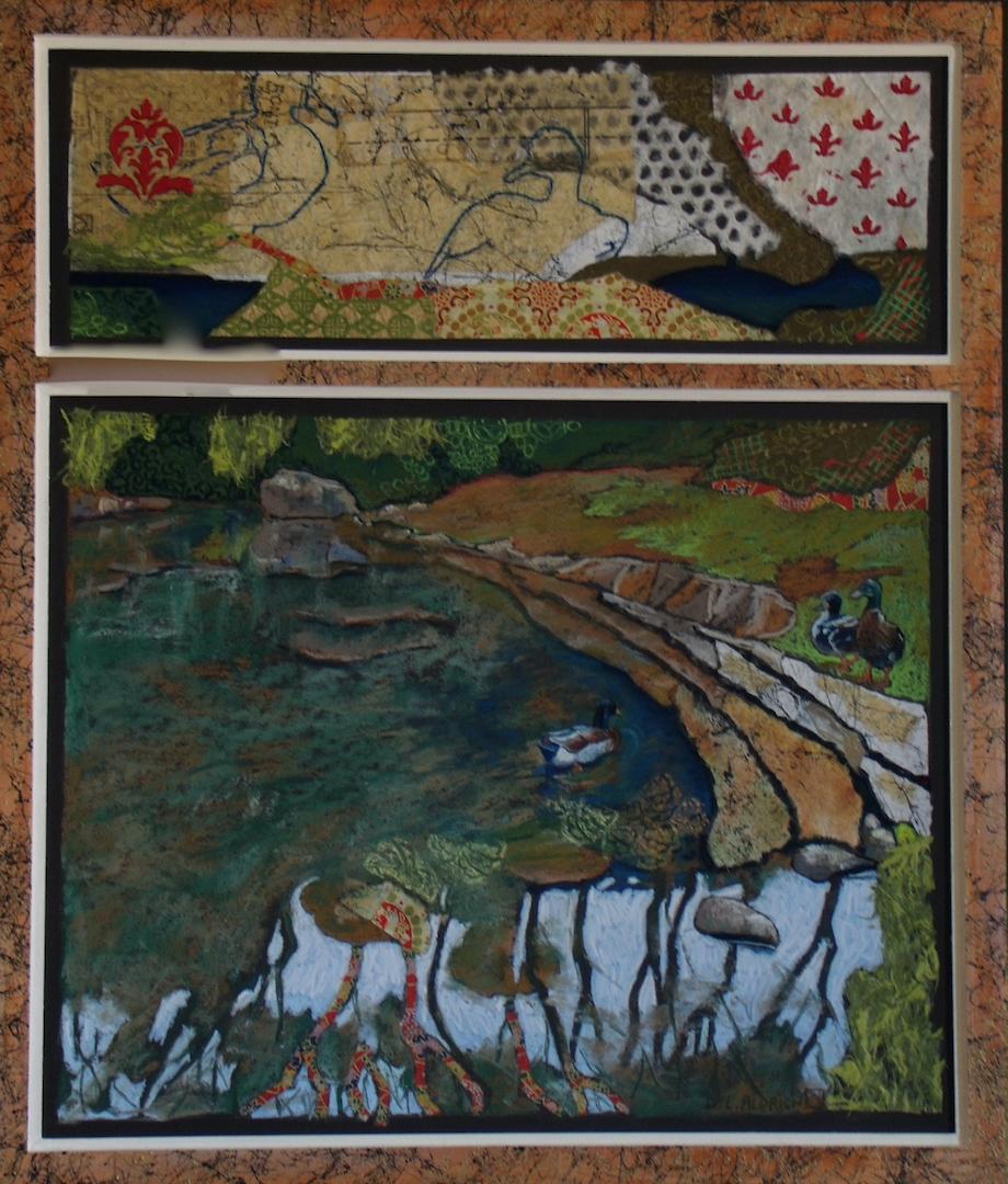 Donna L. Aldrich: Pond's Edge