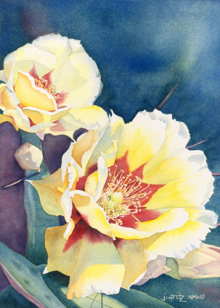 Jane Fritz: Prickly Pear 3