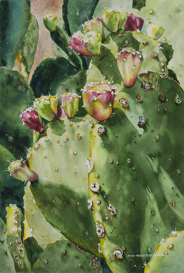 Mary Moser-Perkins: Prickly Pear