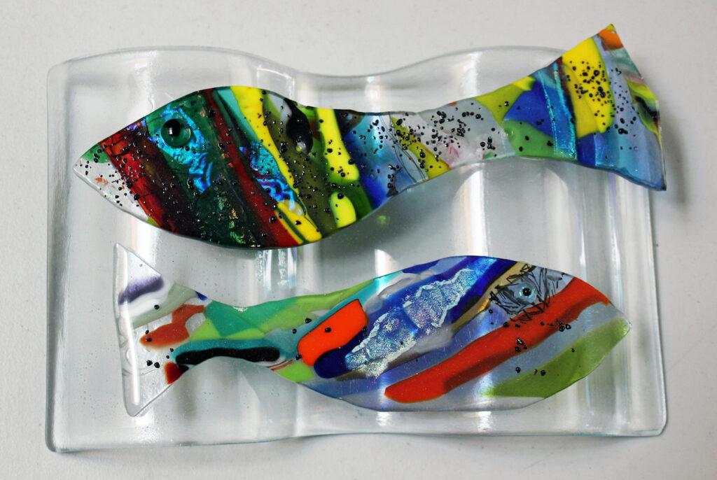 Linda Boyes: Red Fish, Blue Fish