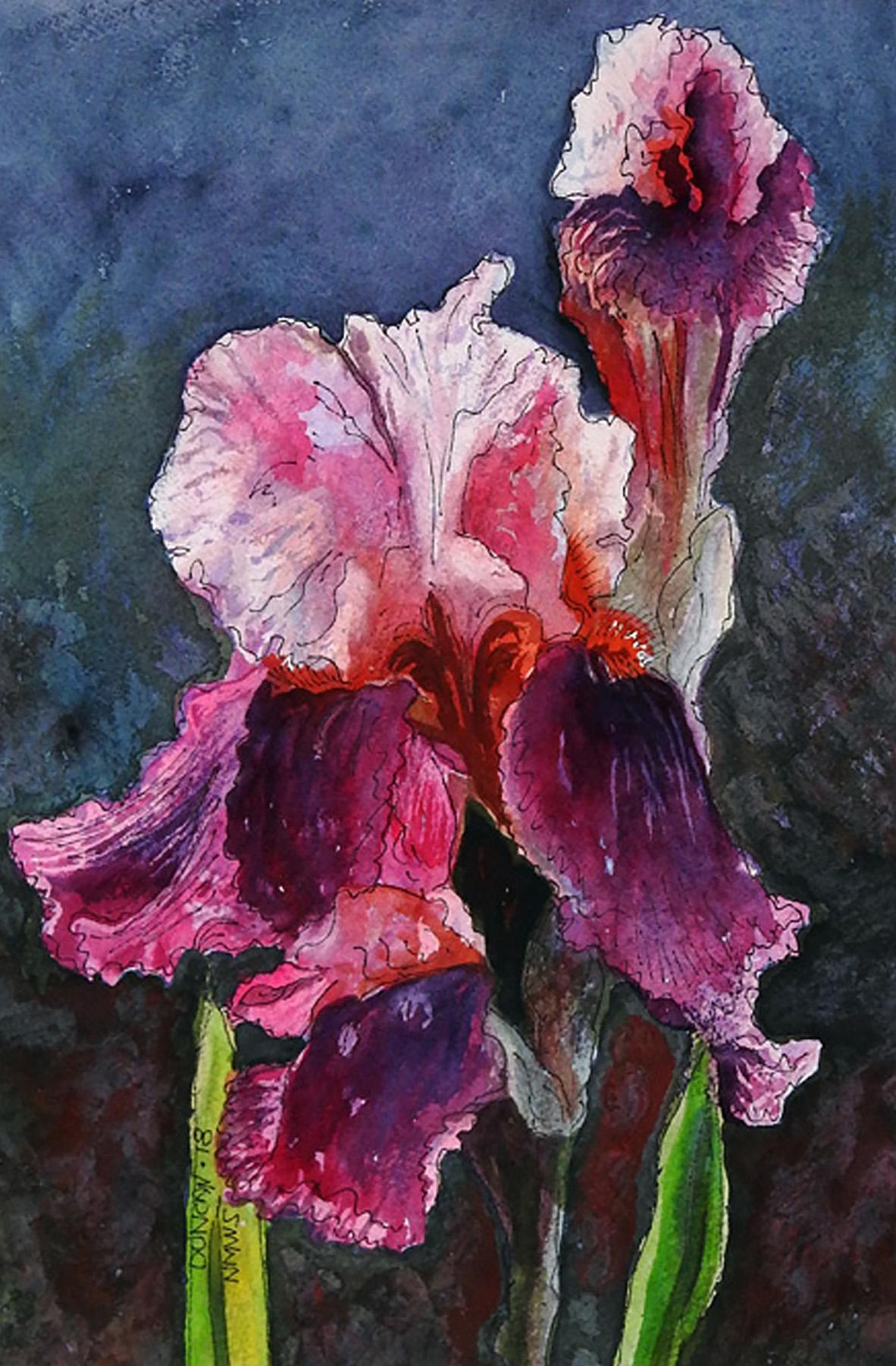 Woody Duncan: Red Iris