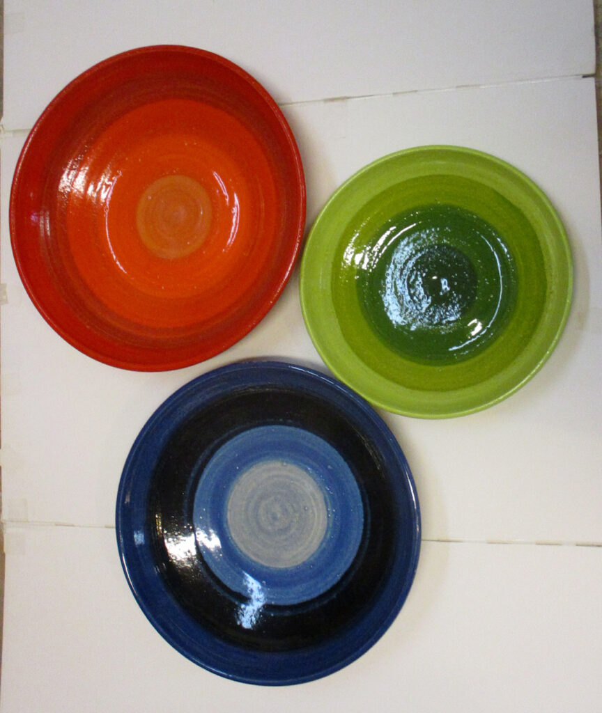 Marlies Diels: Red, Blue, Green Composition