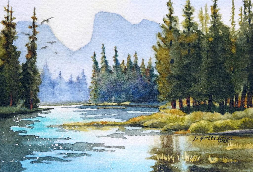 Jane Fritz: River of Light 2