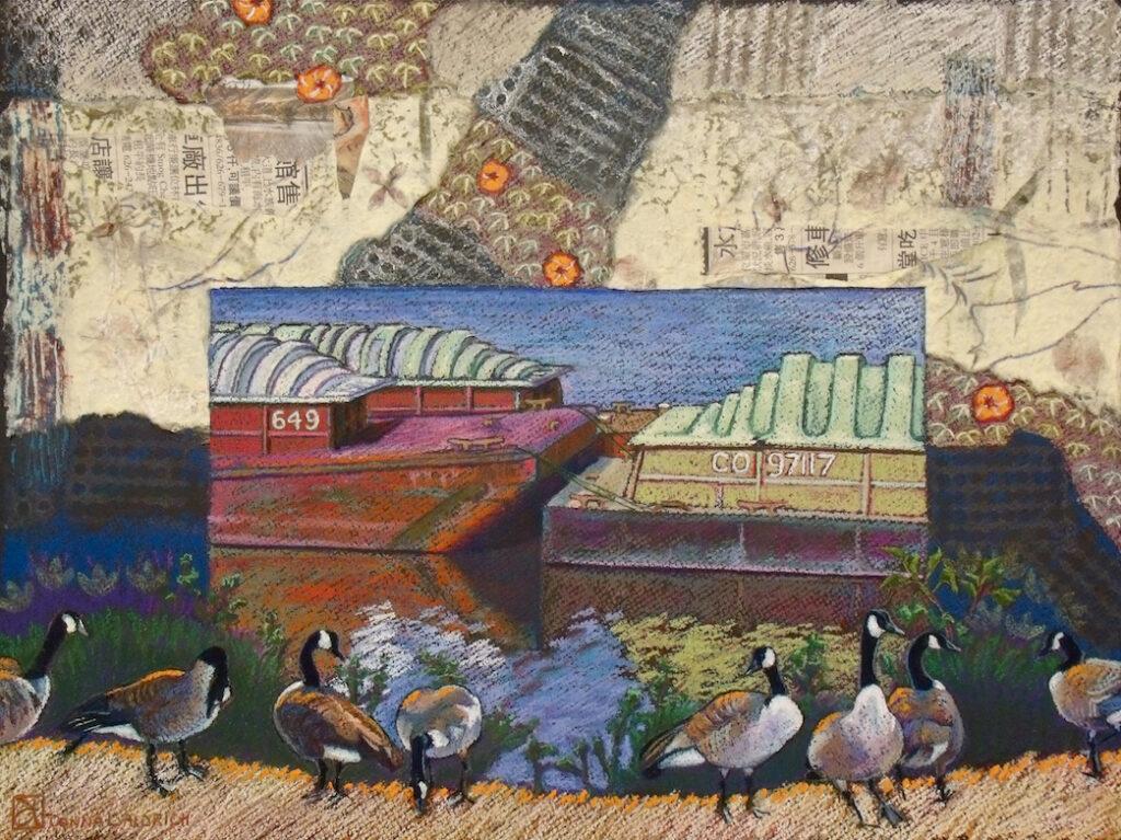 Donna L. Aldrich: River's Concourse