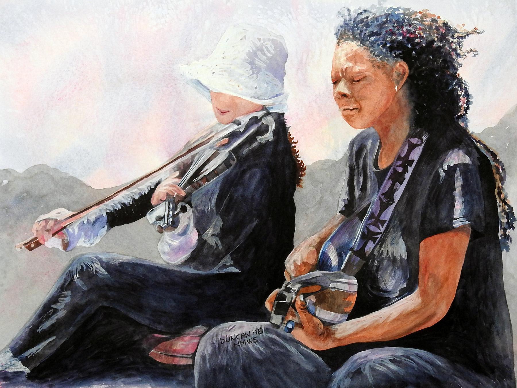 Woody Duncan: Royal Street Duo