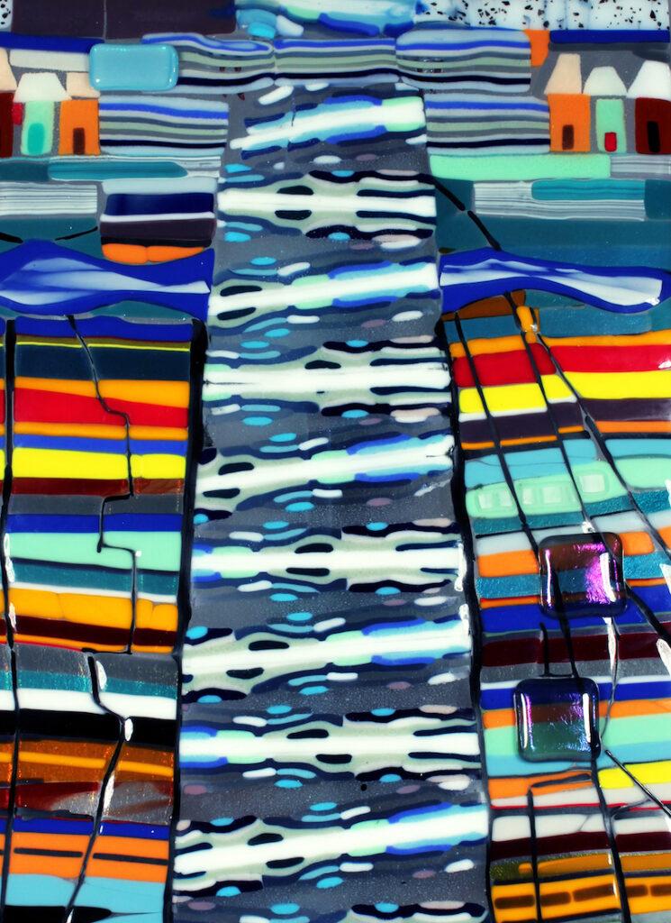 Linda Boyes: Sedona Waterfall