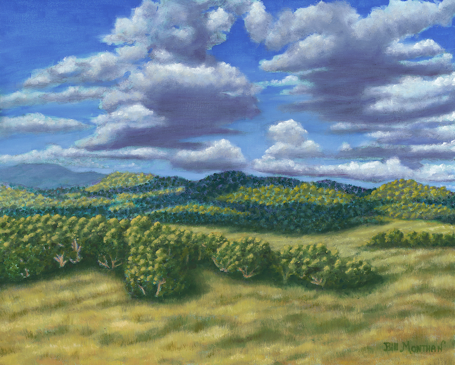 Bill Monthan: September In Rowe New Mexico