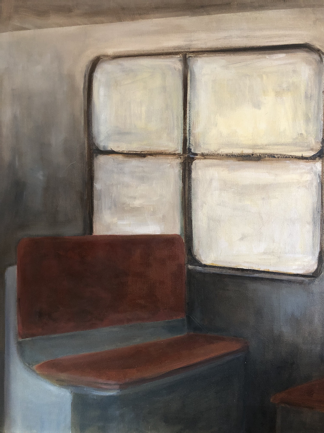 Alexandra Dell'Amore: Subway Car with Four Windows