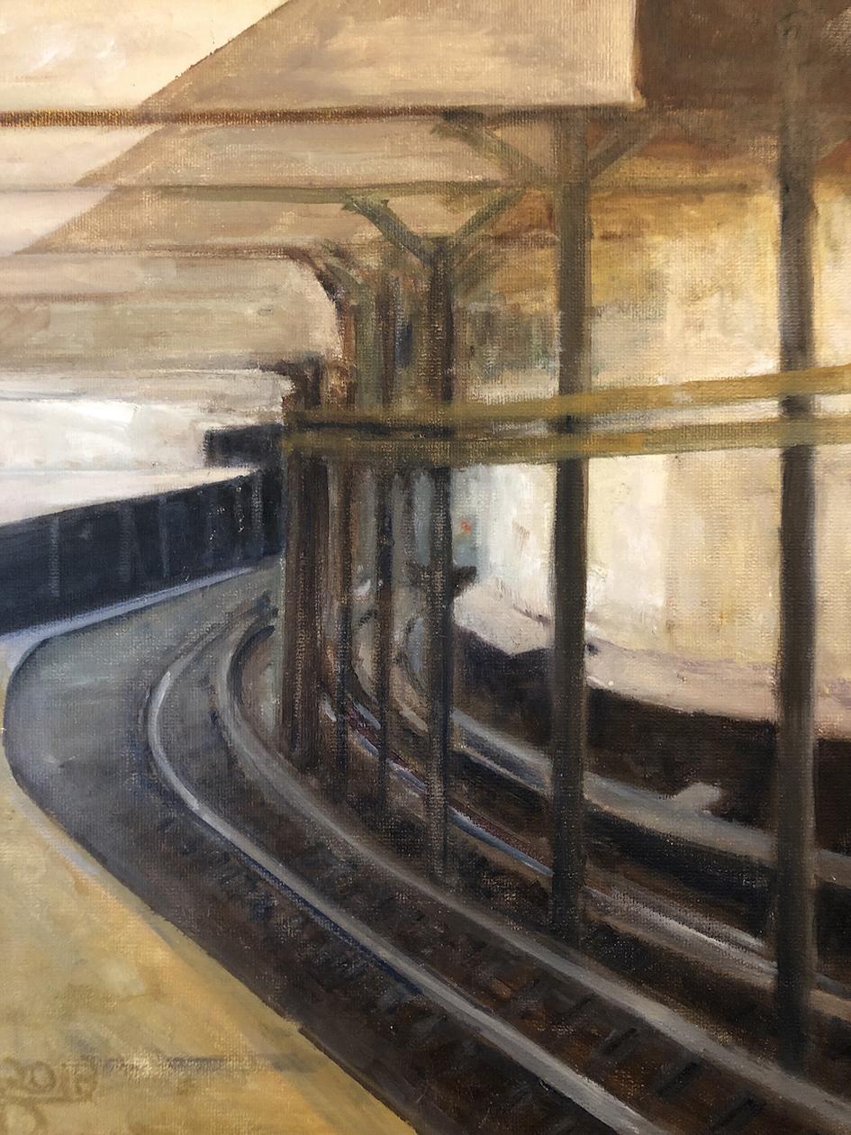 Alexandra Dell'Amore: Subway Curve Tracks